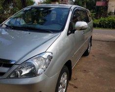 Cần bán lại xe Toyota Innova G năm sản xuất 2007, màu bạc xe gia đình giá cạnh tranh giá 360 triệu tại Gia Lai