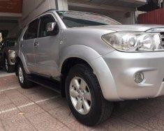 Cần bán Toyota Fortuner V đời 2009, màu bạc, nhập khẩu chính chủ, 515 triệu giá 515 triệu tại Hà Nội