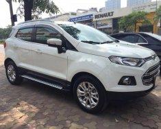 Bán Ford EcoSport Titanium 1.5L AT năm sản xuất 2016, màu trắng chính chủ, giá tốt giá 550 triệu tại Hà Nội