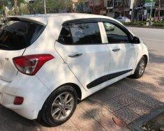 Bán xe Hyundai Grand i10 1.2AT sản xuất năm 2015, màu trắng, xe nhập chính chủ, giá chỉ 410 triệu giá 410 triệu tại Hà Nội