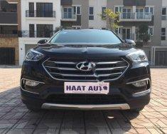 Bán Hyundai Santa Fe 2.2L 4WD đời 2016, màu đen giá 1 tỷ 90 tr tại Hà Nội