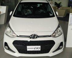 Cần bán xe Hyundai Grand i10 sản xuất 2018, màu trắng giá 380 triệu tại Tp.HCM