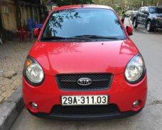 Bán Kia Morning SLX 1.0 AT sản xuất 2009, màu đỏ, nhập khẩu giá 260 triệu tại Hà Nội