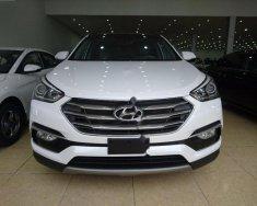 Bán xe Hyundai Santa Fe 2.4L đời 2018, màu trắng giá 898 triệu tại Hà Nội