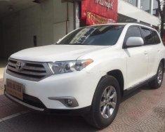 Chính chủ bán Toyota Highlander SE sản xuất 2011, màu trắng, xe nhập giá 1 tỷ 220 tr tại Hà Nội
