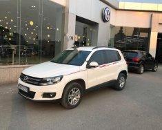 Bán xe Volkswagen Tiguan 2.0 AT sản xuất 2011, màu trắng, nhập khẩu giá 669 triệu tại Hà Nội
