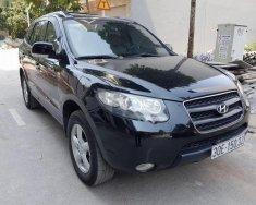 Auto bán Hyundai Santa Fe 2.2 MT đời 2009, màu đen, nhập khẩu giá 510 triệu tại Hà Nội