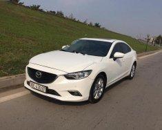 Chính chủ bán xe Mazda 6 2.0 AT năm 2015, màu trắng giá 758 triệu tại Hà Nội