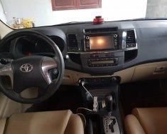 Cần bán xe Toyota Fortuner đời 2016, màu bạc giá 790 triệu tại Hải Phòng