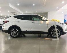 Cần bán Hyundai Santa Fe 2.4L 2018, màu trắng giá 920 triệu tại Tp.HCM