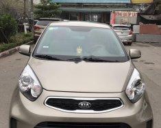 Chính chủ bán xe Kia Morning Si MT năm 2017, màu vàng cát giá 350 triệu tại Hà Nội