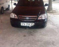 Bán xe Daewoo Lacetti EX 1.6 MT sản xuất năm 2008, màu đen giá 198 triệu tại Nghệ An