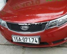 Chính chủ bán Kia Forte SLI 2010, màu đỏ, xe nhập giá 395 triệu tại Hải Phòng