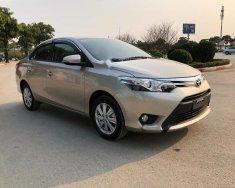 Bán Toyota Vios 1.5G sản xuất 2017, màu vàng cát giá 595 triệu tại Hà Nội