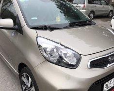 Sàn ô tô bán Kia Morning Si MT 2017, màu vàng cát giá 350 triệu tại Hà Nội