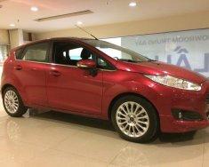 Cần bán xe Ford Fiesta 1.0L Ecoboost năm 2017, màu đỏ giá cạnh tranh giá 520 triệu tại Tp.HCM