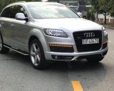 Chính chủ bán xe Audi Q7 Quattro Premium Sline 2009, màu bạc, nhập khẩu giá 1 tỷ 100 tr tại Tp.HCM