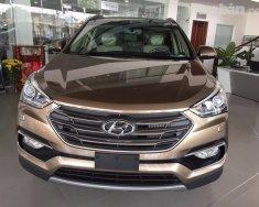 Bán xe Hyundai Santa Fe đời 2018, màu nâu, xe nhập giá 1 tỷ 90 tr tại Bình Dương