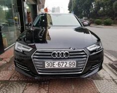Bán Audi A4 2.0 TFSI sản xuất năm 2016, màu đen, nhập khẩu giá 1 tỷ 499 tr tại Hà Nội