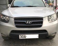 Bán Hyundai Santa Fe 2.7 AT đời 2007, màu bạc   giá 400 triệu tại Hà Nội