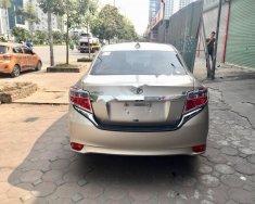 Bán Toyota Vios 1.5E CVT 2017, màu vàng cát giá 550 triệu tại Hà Nội