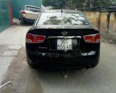 Bán xe Kia Cerato 1.6 AT sản xuất 2010, màu đen, nhập khẩu giá 422 triệu tại Hà Nội