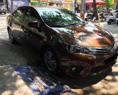 Cần bán xe Toyota Altis 1.8G tự động 2017, màu nâu giá 735 triệu tại Tp.HCM
