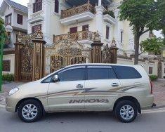 Cần bán xe Toyota Innova G đời 2007, màu vàng số sàn giá 350 triệu tại Hà Nội