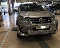 Bán Toyota Fortuner 2.7V 4X2 AT 2016, màu bạc giá 1 tỷ 195 tr tại Tp.HCM