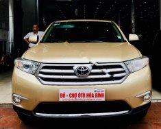 Bán Toyota Highlander Se 2.7 SX 2011, màu vàng, nhập khẩu giá 1 tỷ 120 tr tại Hà Nội