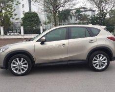Bán Mazda CX 5 2.0 AT sản xuất 2014, màu vàng cát giá 740 triệu tại Hà Nội