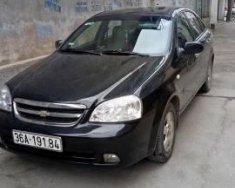 Cần bán xe Chevrolet Lacetti đời 2012, màu đen, 295 triệu giá 295 triệu tại Thanh Hóa