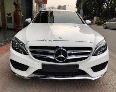 Bán xe Mercedes C300 AMG sản xuất năm 2018, màu trắng giá 1 tỷ 839 tr tại Hà Nội