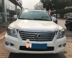 Bán Lexus LX570 nhập Mỹ, màu trắng, nội thất kem. Model và đăng ký 2011, xe siêu đẹp, biển Hà Nội giá 3 tỷ 188 tr tại Hà Nội
