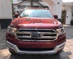 Bán xe Ford Everest 2.2L đời 2017, màu đỏ, nhập khẩu   giá 1 tỷ 175 tr tại Hà Nội