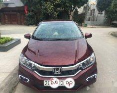 Bán xe Honda City sản xuất năm 2017, màu đỏ giá 600 triệu tại Thái Nguyên