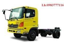 Bán xe tải Hino FL 3 chân, 3 giò, xe Hino FL 14 tấn 15 tấn, thùng dài 9,2 m, giá 980 triệu tại Hà Nội