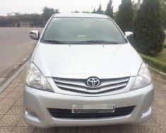 Chính chủ  cần bán xe Toyota Innova 2.0G đời 2010, màu bạc, giá 380tr giá 380 triệu tại Hà Nội