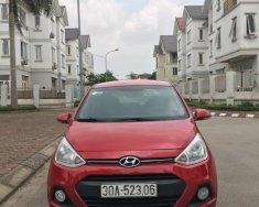 Gia đình cần bán Grand I10 mầu đỏ, số tự động nhập khẩu 2015, có chính chủ giá 365 triệu tại Hà Nội
