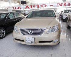 Cần bán xe Lexus LS 460L năm sản xuất 2007, màu vàng, nhập khẩu nguyên chiếc giá 1 tỷ 150 tr tại Tp.HCM