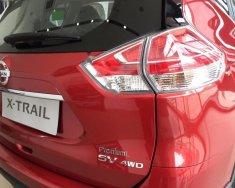Bán xe Nissan X trail 2.5 SV 4WD Premium SX 2018, màu đỏ giá 966 triệu tại Hà Nội