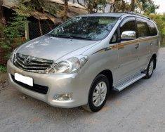 Cần bán lại xe Toyota Innova G đời 2009, màu bạc xe gia đình giá 388 triệu tại Đồng Tháp