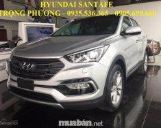Bán xe Hyundai Santa Fe sản xuất 2018, màu bạc, nhập khẩu giá 898 triệu tại Đà Nẵng