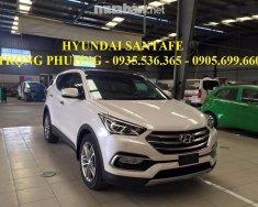Bán xe Hyundai Santa Fe đời 2018, màu trắng, nhập khẩu chính hãng, giá chỉ 898 triệu giá 898 triệu tại Đà Nẵng