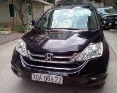 Bán ô tô Honda CR V đời 2010, màu đen ít sử dụng giá 620 triệu tại Hà Nội