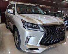 Bán Lexus LX 570 2018, màu vàng, nhập khẩu nguyên chiếc giá 8 tỷ 966 tr tại Hà Nội