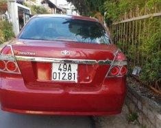 Bán xe Daewoo Gentra năm sản xuất 2008, màu đỏ xe gia đình, giá tốt giá 195 triệu tại Lâm Đồng
