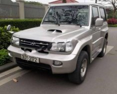 Cần bán lại xe Hyundai Galloper 2.5 AT đời 2003, màu bạc, nhập khẩu, giá cạnh tranh giá 142 triệu tại Hà Nội