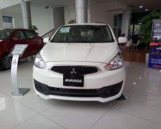 Bán xe Mitsubishi Mirage MT, màu trắng, xám, giá 371 triệu, hỗ trợ trả góp 80%, thanh toán trước 70 triệu giá 371 triệu tại Bắc Ninh