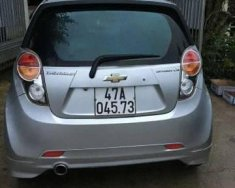 Bán xe Chevrolet Spark sản xuất 2012, màu bạc giá 215 triệu tại Đồng Nai